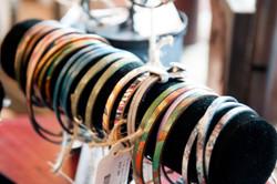 Leather strap bracelets