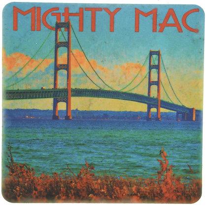 Mighty Mac Tile Coaster