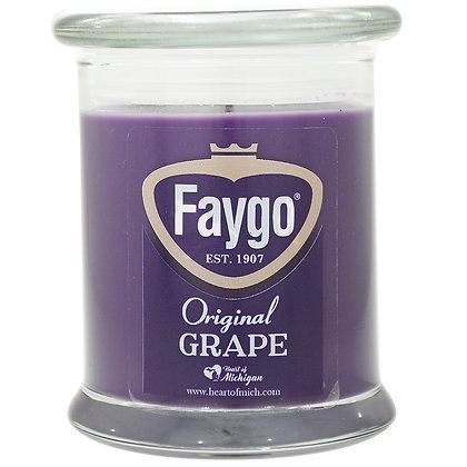 Faygo Grape Soda Candle 12 oz.