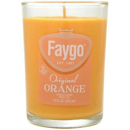 Faygo Orange Soda Candle 8 oz.