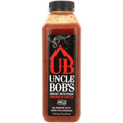 Uncle Bob's Smoky Mountain Premium All Purpose Mild Sauce