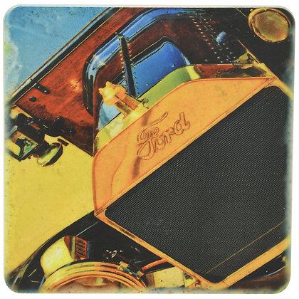 Old Ford Tile Coaster