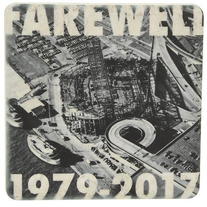 Farewell Joe (Louis Arena) Tile Coaster