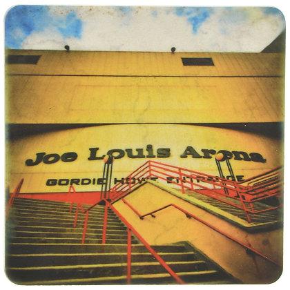 Joe Louis Arena Stairs Tile Coaster