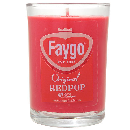 Faygo Red Pop Candle 8 oz.
