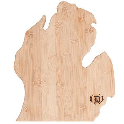 Mitten Board Michigan-Shaped Bamboo Cutting Board