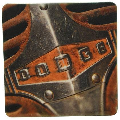 Dodge Hood Tile Coaster