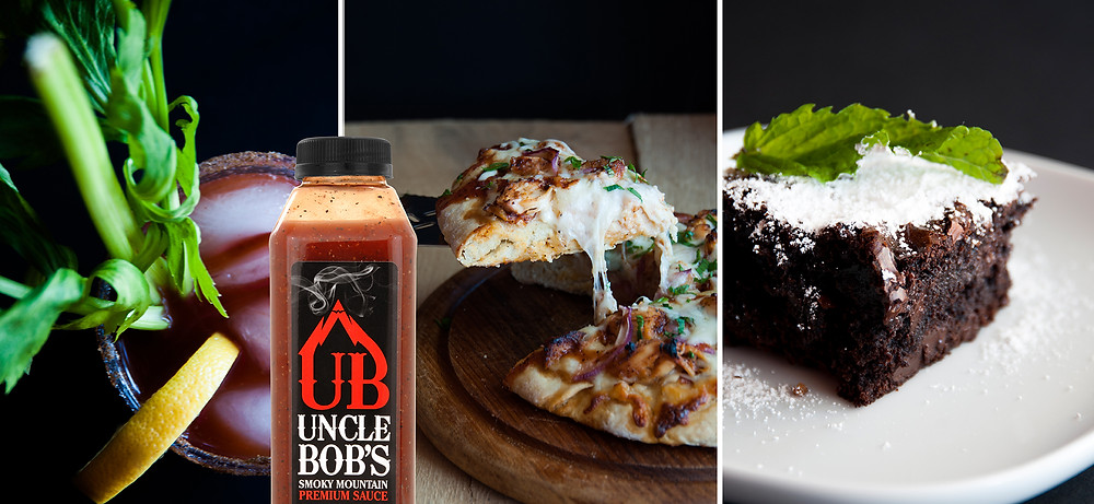 Uncle Bob's perfect in a Bloody Mary, BBQ chicken pizza, brownies and more!
