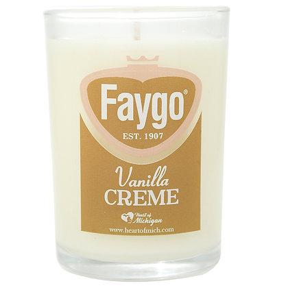 Faygo Vanilla Creme Soda Candle 8 oz.