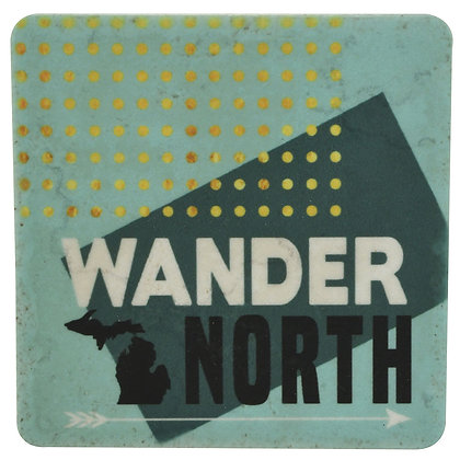 Wander North Tile Coaster