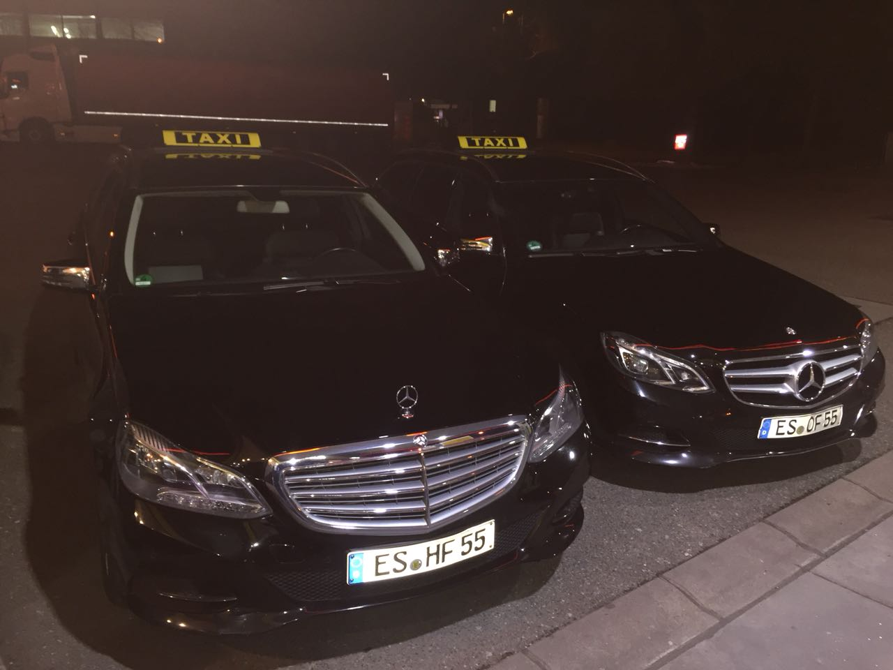 E-Klasse Taxis