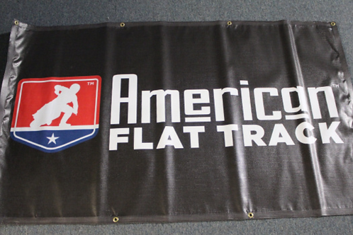 Banner 3' x 5' - American Flat Track