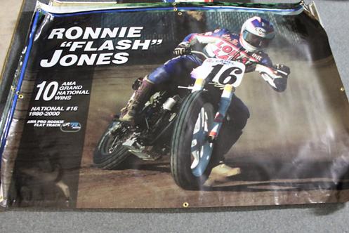 "Banner 4' x 6' - Ronnie ""Flash"" Jones"