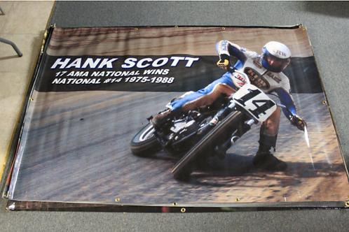 Banner 4' x 6' - Hank Scot
