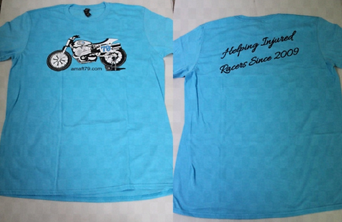 AMAFT79.COM XR750 T-Shirt (Turquoise)