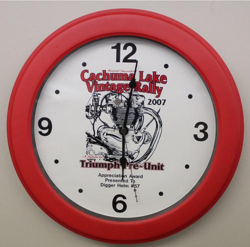 Cachuma Lake Vintage Series (2007) Wall Clock