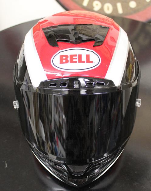 Bell Helmet - New (red, white and black)