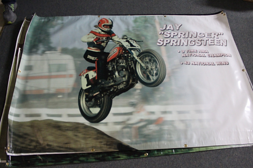 Banner 4' x 6' - Jay Springsteen Off The Jump