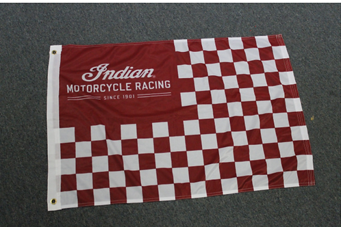 Indian Motorcycle Flag **AVAILABLE AT CHARITY TENT**