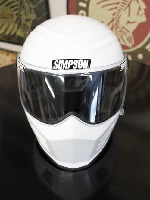 Simpson Helmet - white