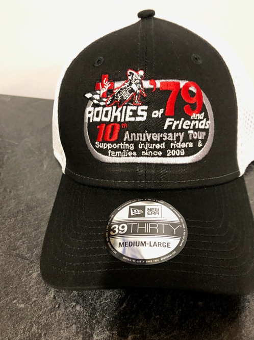 Rookies of '79 Hat (black and white)