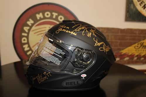 Bell Helmet, Star Series, autographed