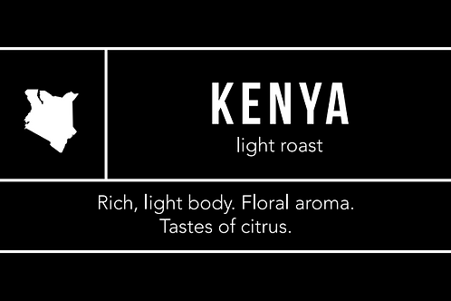 Kenya: Light Roast