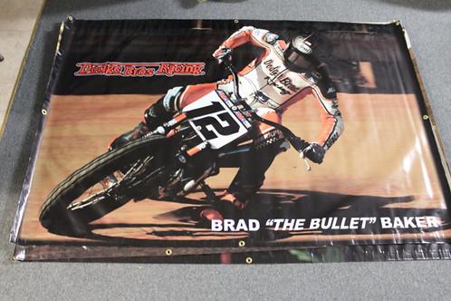 Banner 4' x 6' - Brad Baker #12