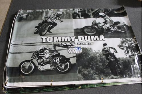 Banner 4' x 6' - Tommy Duma (4 shots)