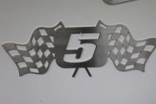 Jake Johnson Steel Wall Plaque (by Randy Rothe)