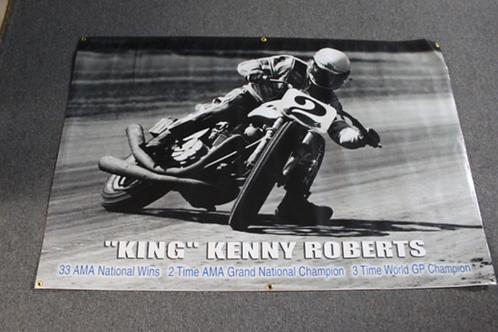 Banner 4' x 6' - King Kenny Roberts