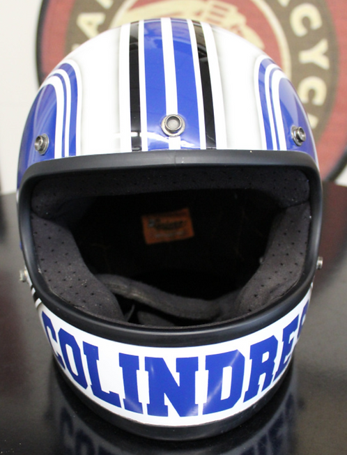 Dominic Colindres Helmet