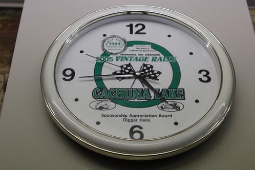 Cachuma Lake Vintage Series (2005) Wall Clock