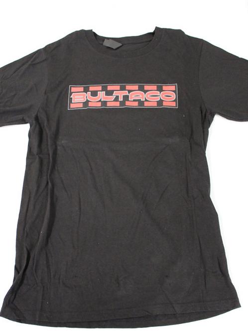 Bultaco T-Shirt (Black w/red letters)
