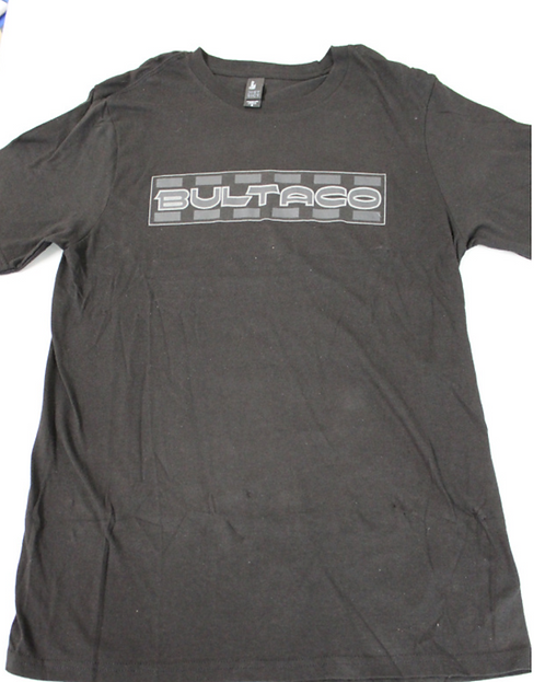 Bultaco T-Shirt (Black w/gray letters)