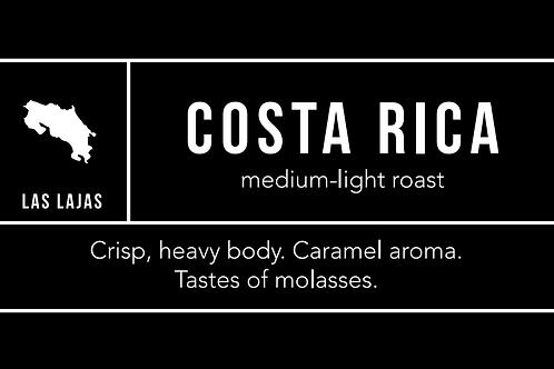 Cost Rica: Medium-Light Roast