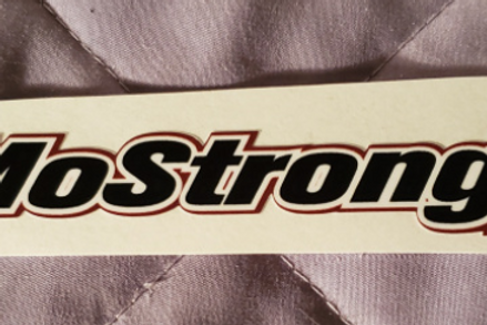"""#JMOSTRONG sticker - 6.50"""" X 1.00"""""""