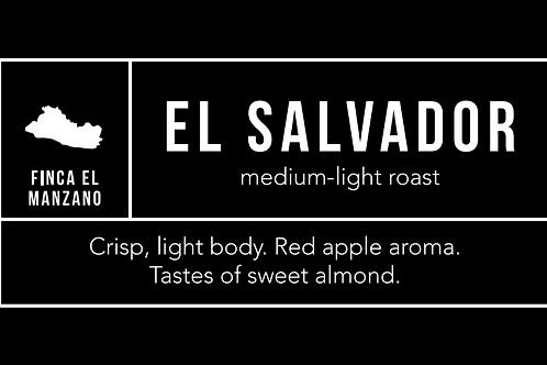 El Salvador: Medium-Light Roast