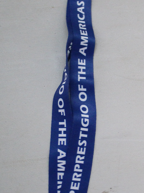 Superprestigio of the Americas Lanyard (Blue/White or Red/White)