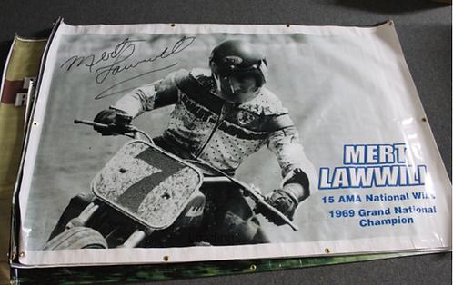 Banner 4' x 6' - Mert Lawwill