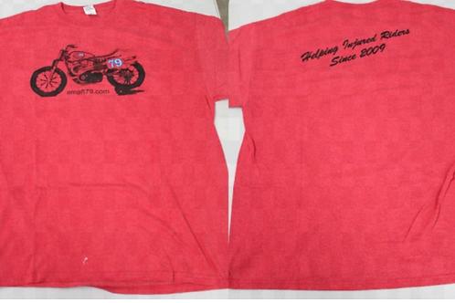 AMAFT79.COM XR750 T-Shirt (Red)