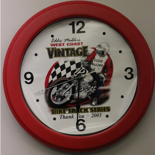 West Coast Dirt Track Series Wall Clock