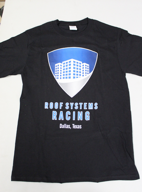 Roof Systems T-Shirt (Black)