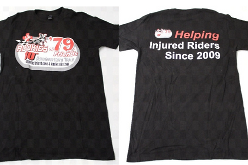 10th Anniversary Rookies of '79 T-Shirt (Black) **SALE PRICE**