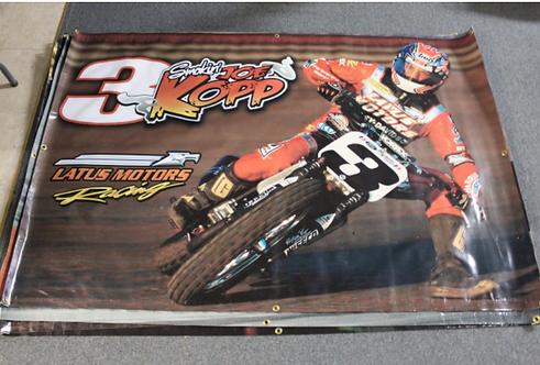 Banner 4' x 6 Joe Kopp