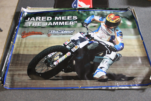"""Banner 4' x 6' - Jared Mees """"The Jammer"""""""