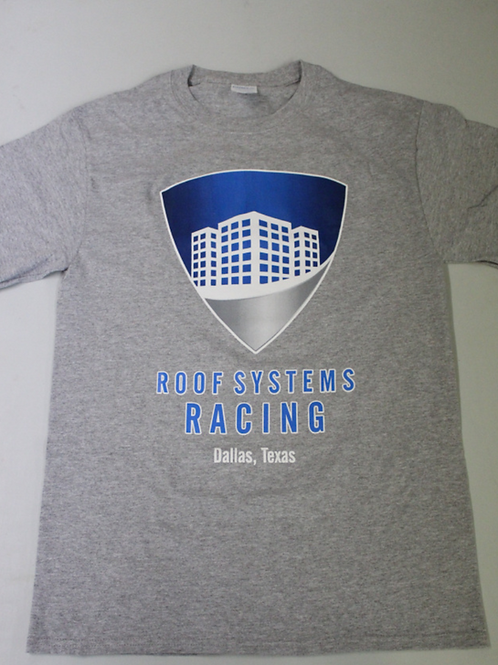 Roof Systems T-Shirt (Gray)