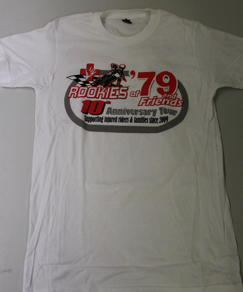 10th Anniversary Rookies of '79 T-Shirt (White) **SALE PRICE**