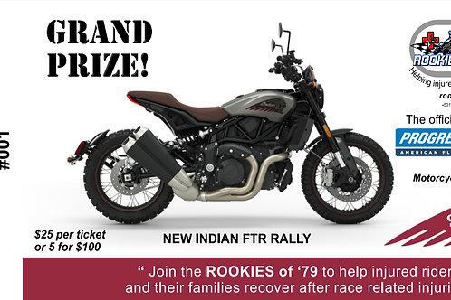 Indian Motorcycle Raffle Ticket - $25 EA