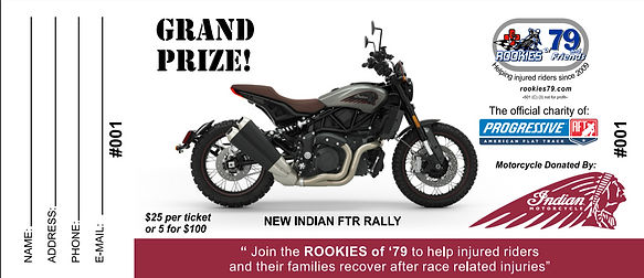 2021 - Indian Motorcycle Giveaway - Tick